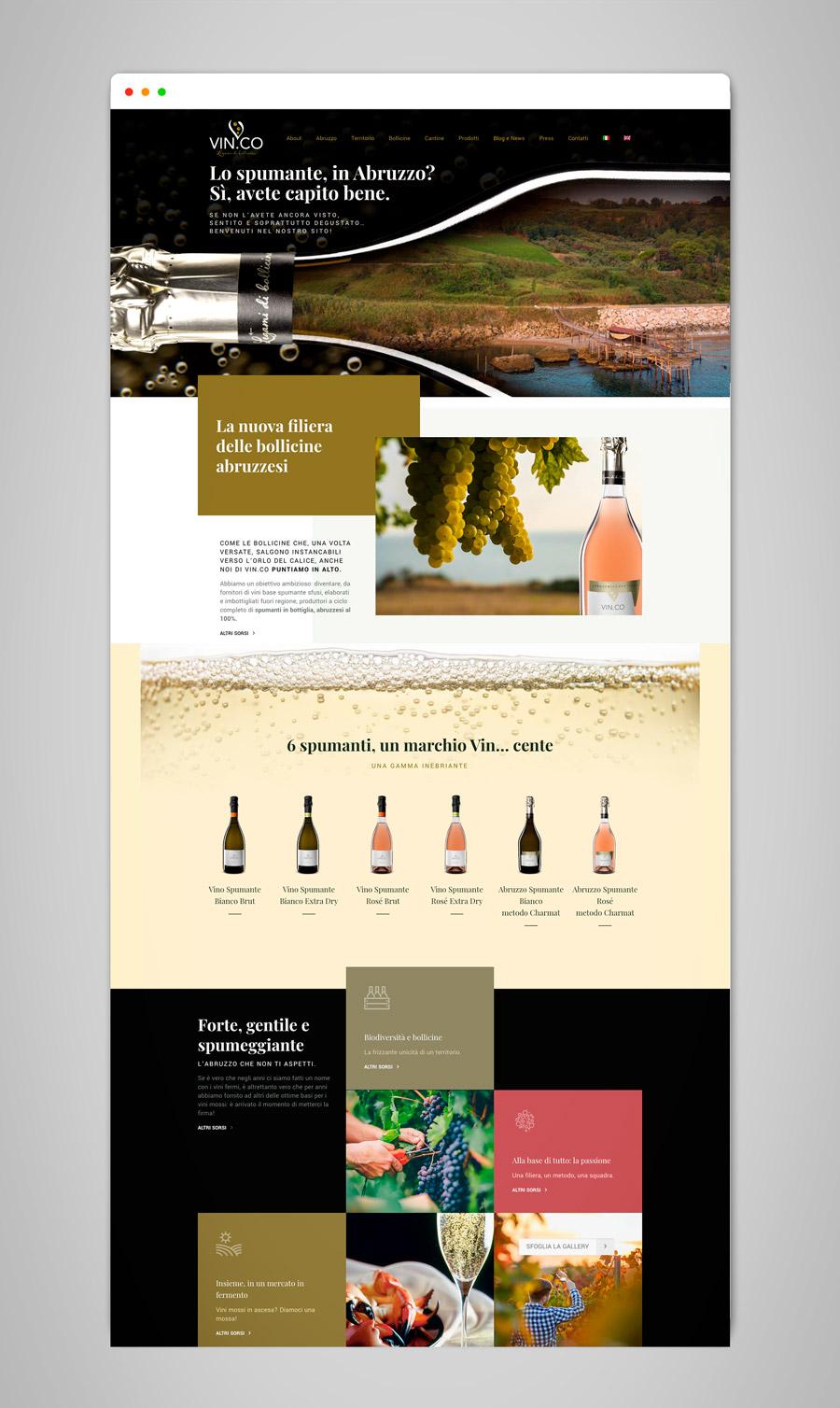 VINCO_sviluppo-Home-Page